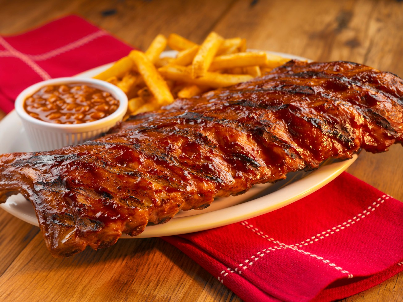 ... ribs bbq ribs heat baste ribs generously with the bbq sauce place ribs